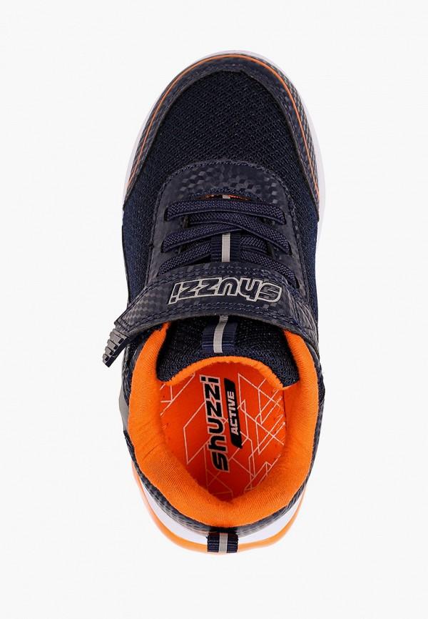 Кроссовки для мальчика Shuzzi цвет синий  Фото 4