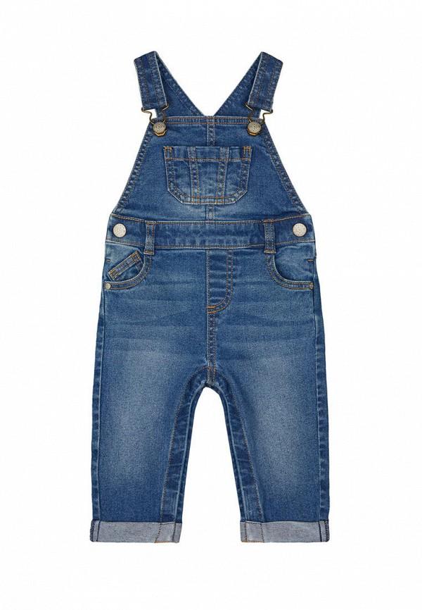 джинсовые комбинезон mothercare для мальчика, голубой