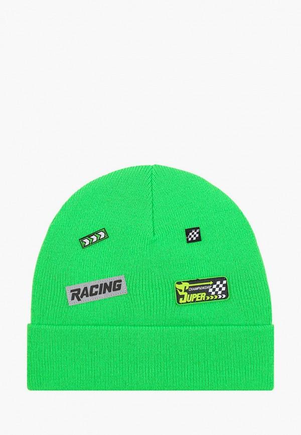 шапка playtoday для мальчика, зеленая
