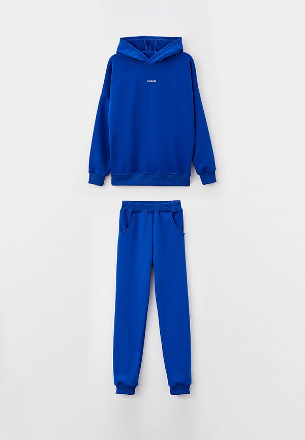 спортивный костюм looklie для мальчика, синий