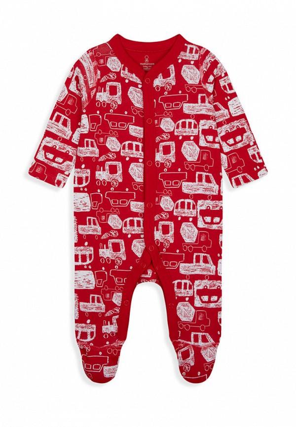 комбинезон с брюками mothercare для мальчика, красный