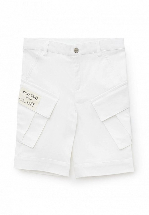 шорты andre tan для мальчика, белые