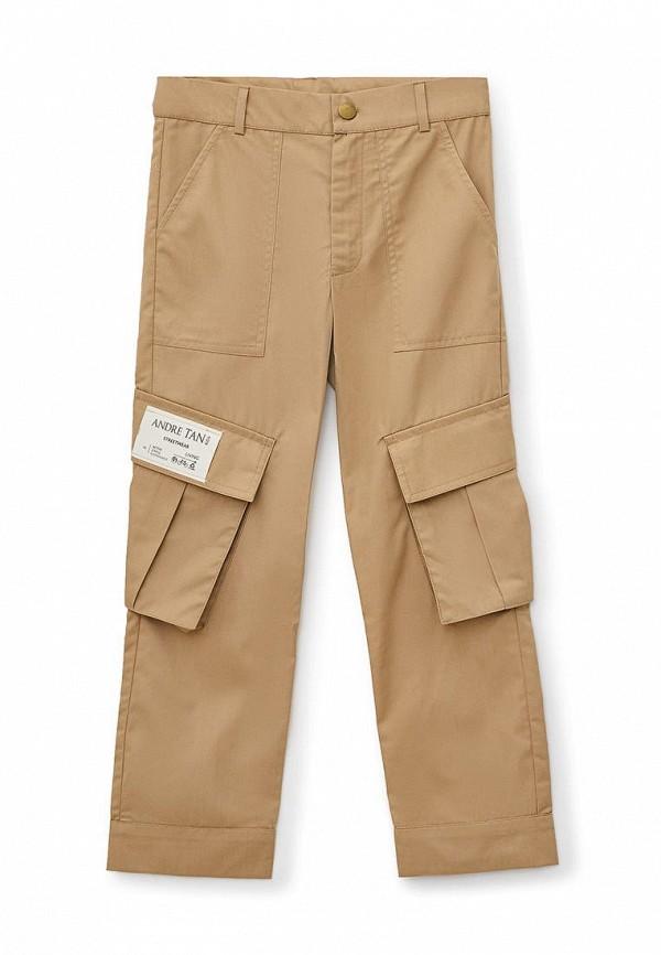 брюки andre tan для мальчика, коричневые