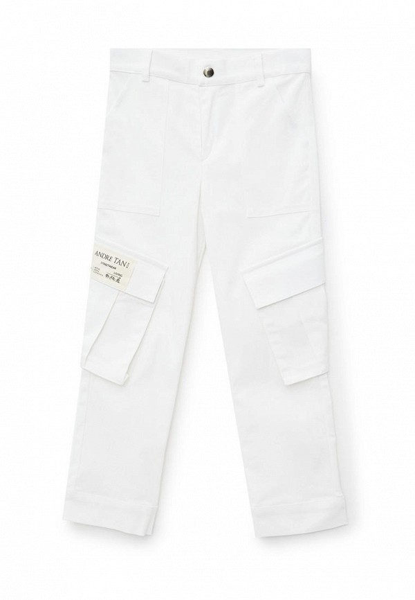 брюки andre tan для мальчика, белые