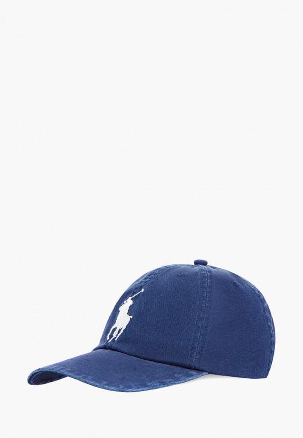 бейсболка polo ralph lauren для мальчика, синяя