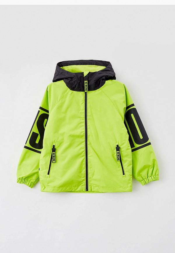 легкие куртка playtoday для мальчика, зеленая