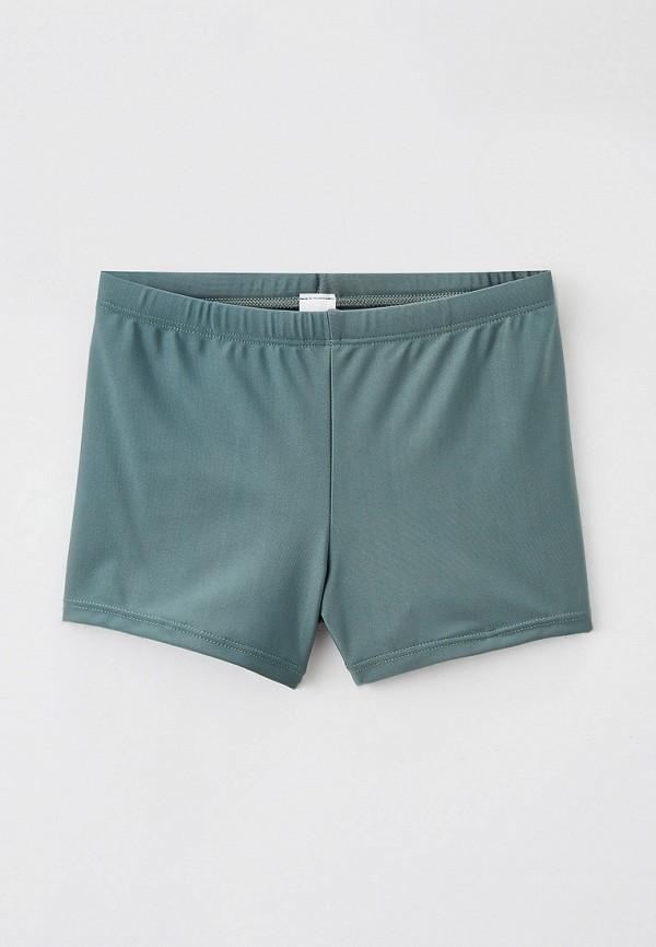 плавки sela для мальчика, зеленые