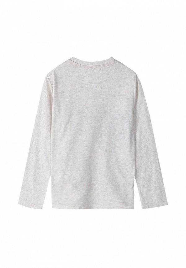 Лонгслив для мальчика 5.10.15 цвет серый  Фото 3