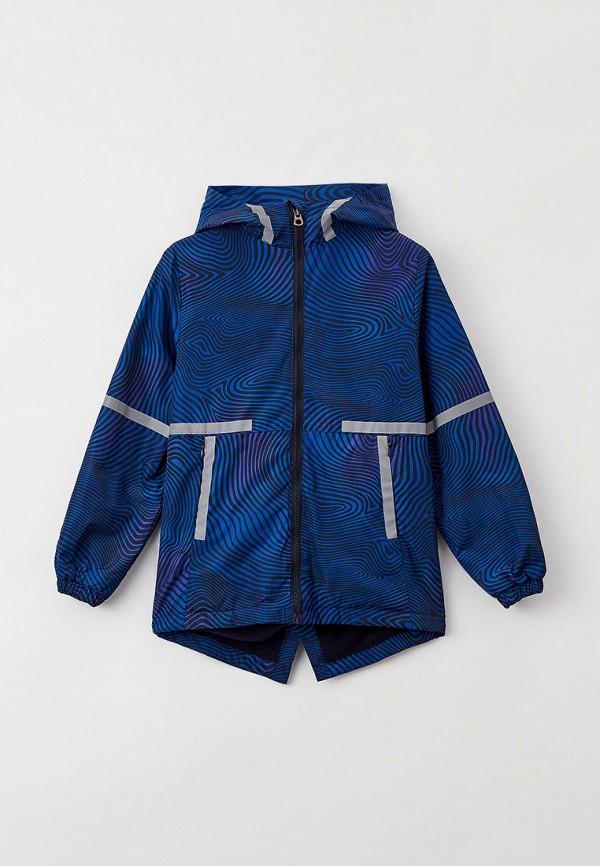 легкие куртка acoola для мальчика, синяя