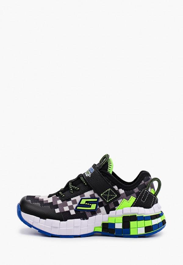 кроссовки skechers для мальчика, разноцветные