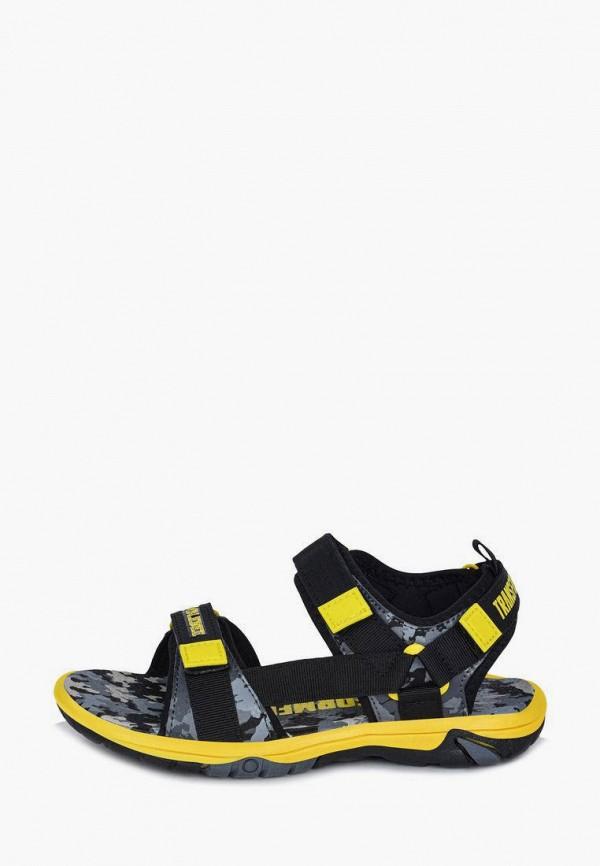 сандалии transformers для мальчика, черные