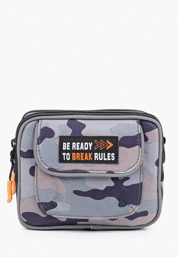 сумка acoola для мальчика, серая