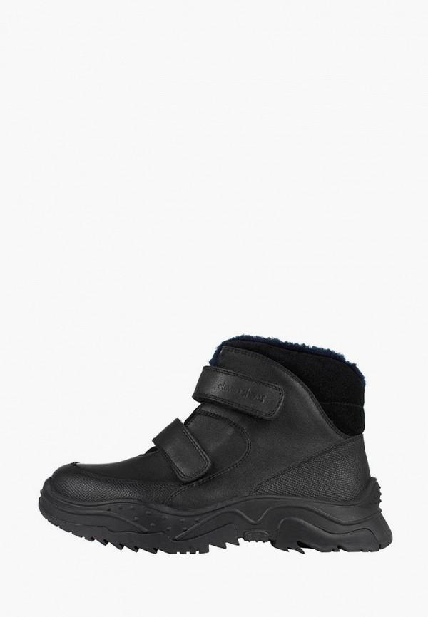 ботинки lioneli для мальчика, черные