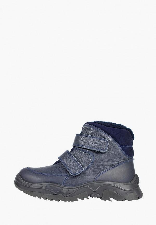 ботинки lioneli для мальчика, синие