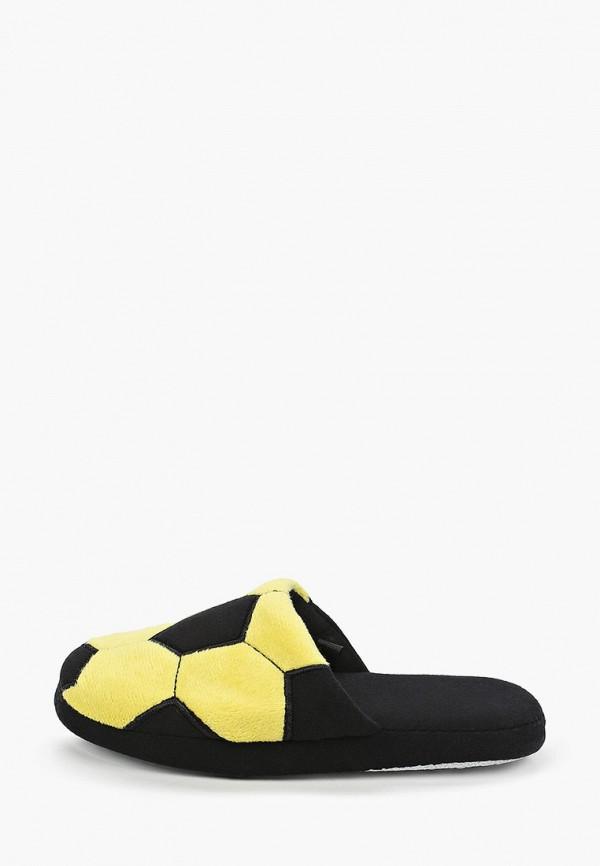 Тапочки для мальчика PlayToday цвет желтый