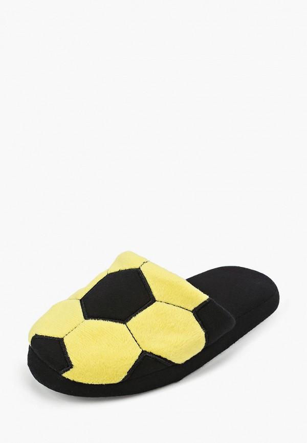 Тапочки для мальчика PlayToday цвет желтый  Фото 2