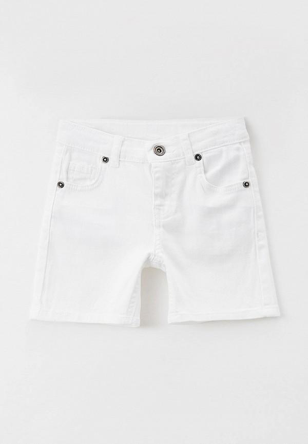Шорты для мальчика джинсовые DeFacto цвет белый