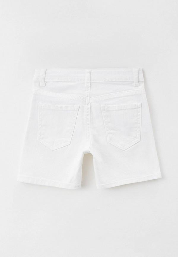 Шорты для мальчика джинсовые DeFacto цвет белый  Фото 2