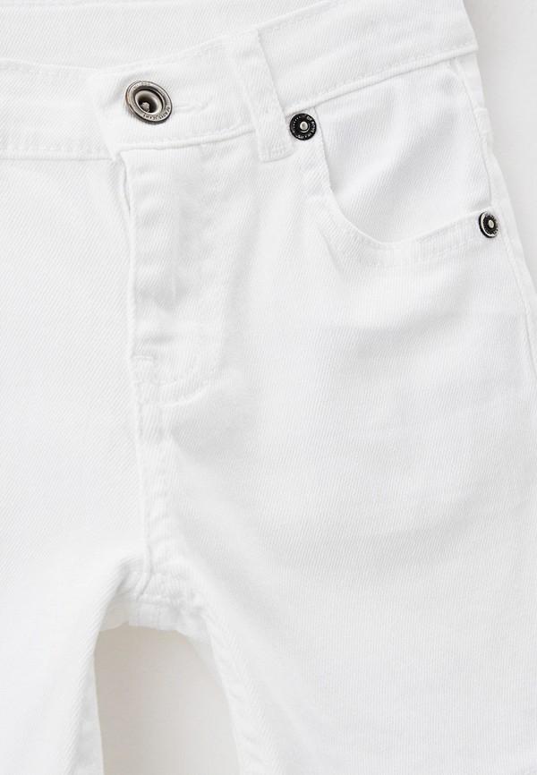 Шорты для мальчика джинсовые DeFacto цвет белый  Фото 3