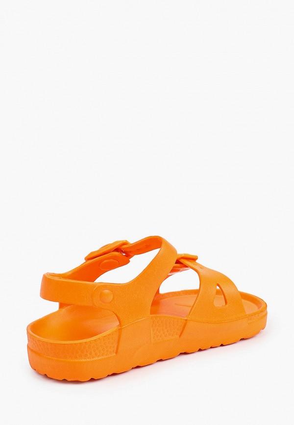 Сандалии для мальчика Tingo цвет оранжевый  Фото 3
