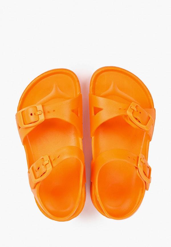 Сандалии для мальчика Tingo цвет оранжевый  Фото 4