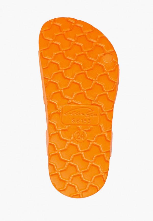 Сандалии для мальчика Tingo цвет оранжевый  Фото 5
