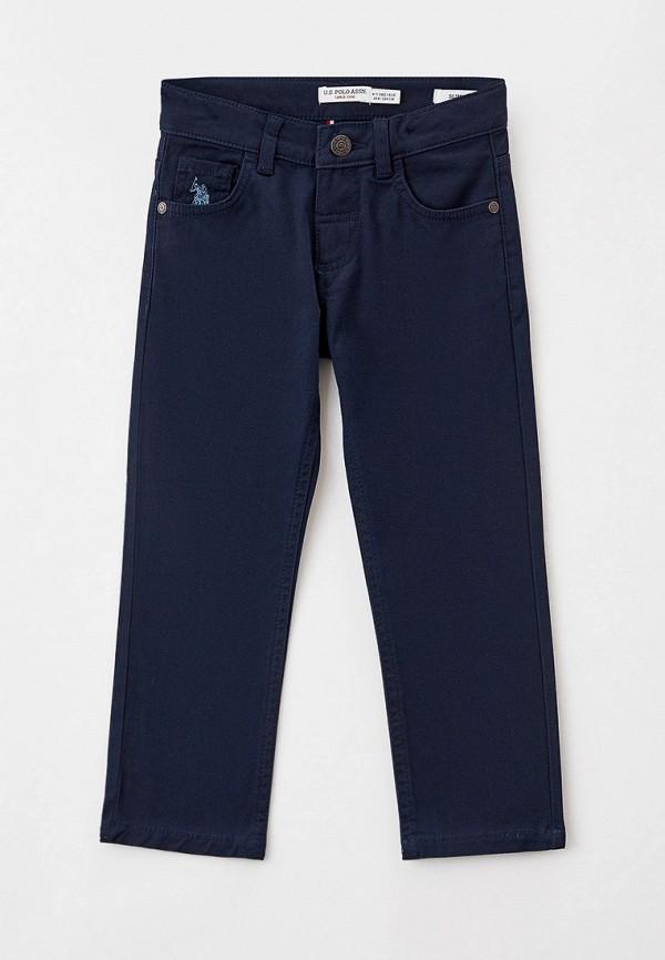 брюки u.s. polo assn для мальчика, синие