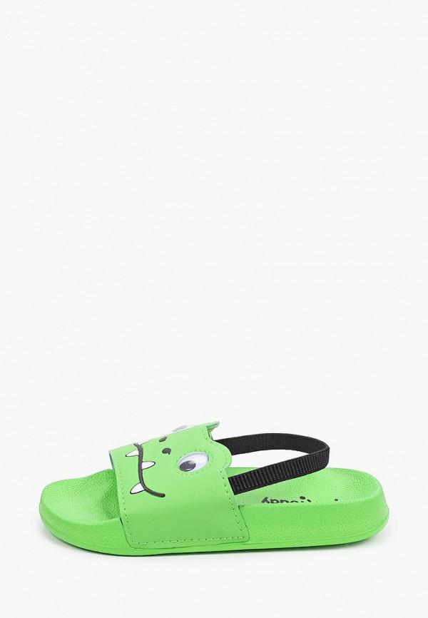 Сандалии для мальчика PlayToday цвет зеленый