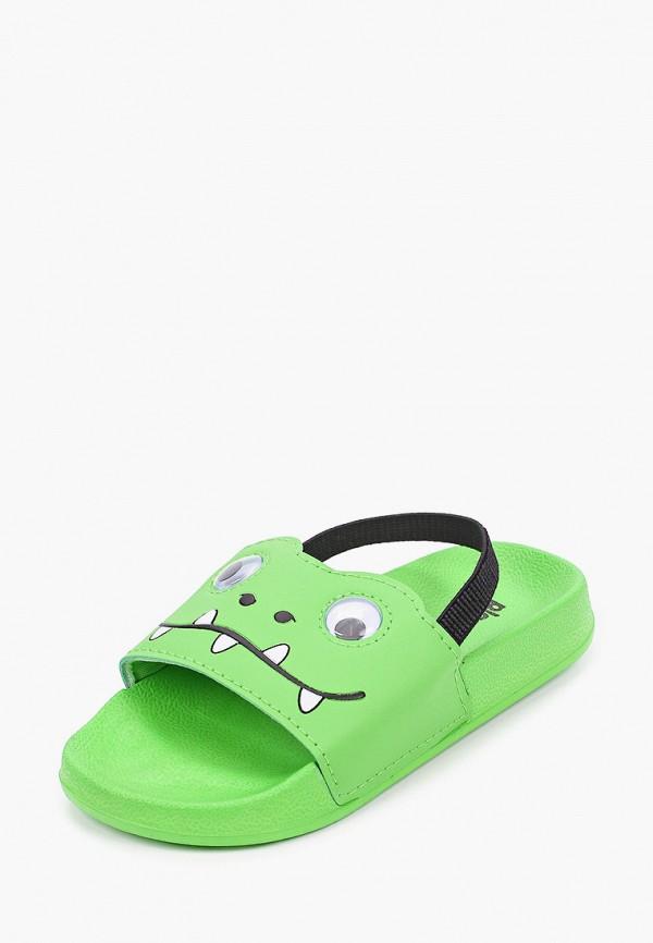 Сандалии для мальчика PlayToday цвет зеленый  Фото 2