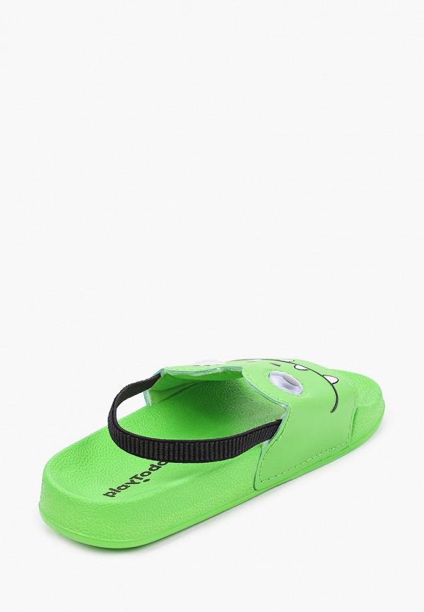 Сандалии для мальчика PlayToday цвет зеленый  Фото 3