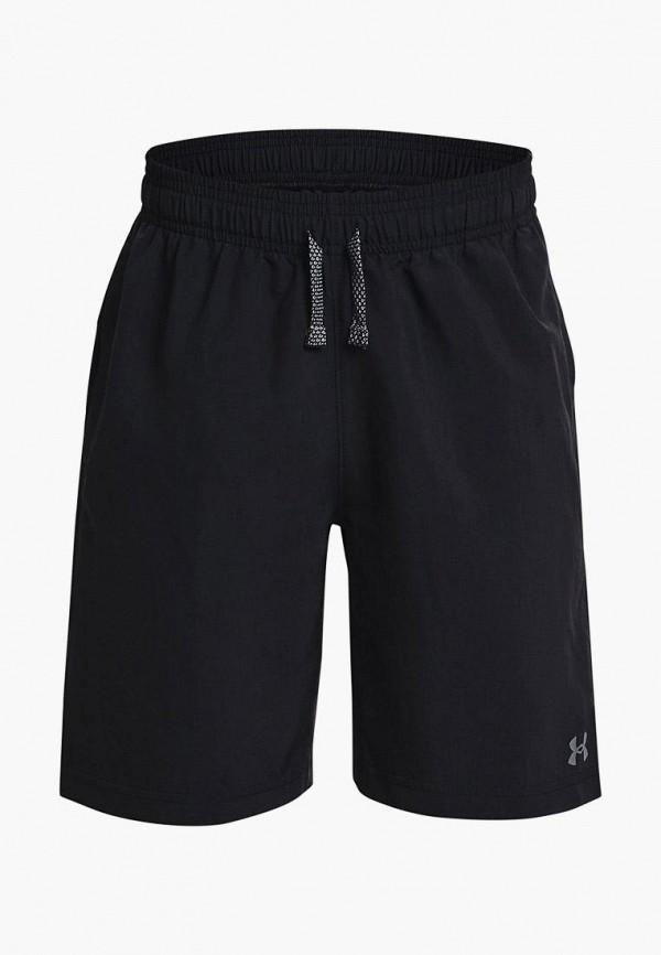 спортивные шорты under armour для мальчика, черные