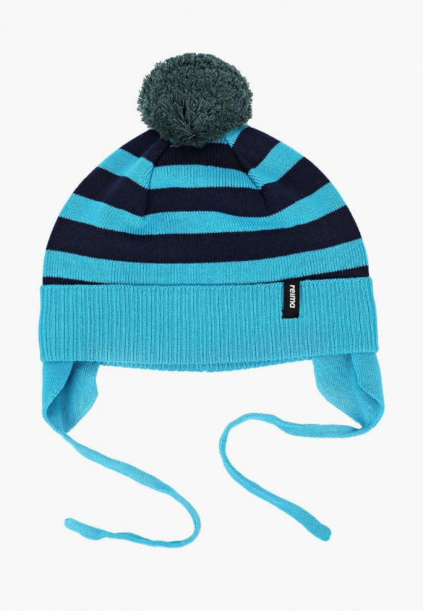шапка reima для мальчика, голубая
