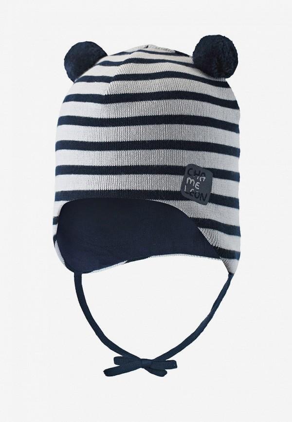 шапка lassie by reima для мальчика, белая