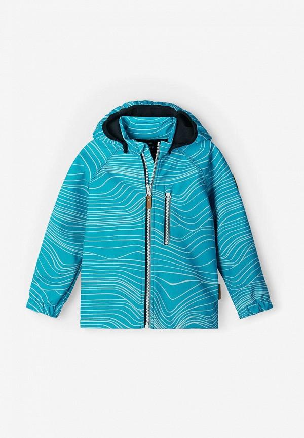 куртка reima для мальчика, голубая