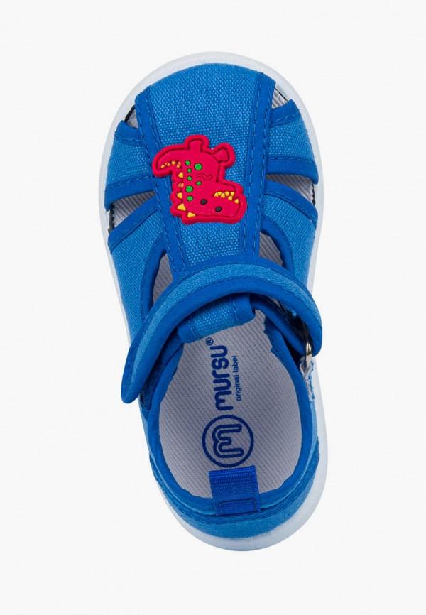 Сандалии для мальчика Mursu цвет синий  Фото 3