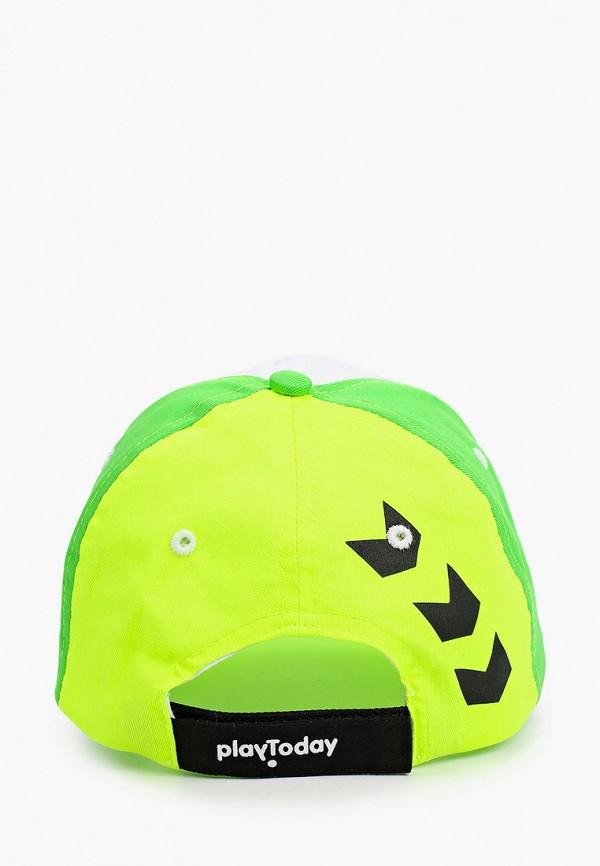 Детская бейсболка PlayToday цвет зеленый  Фото 2
