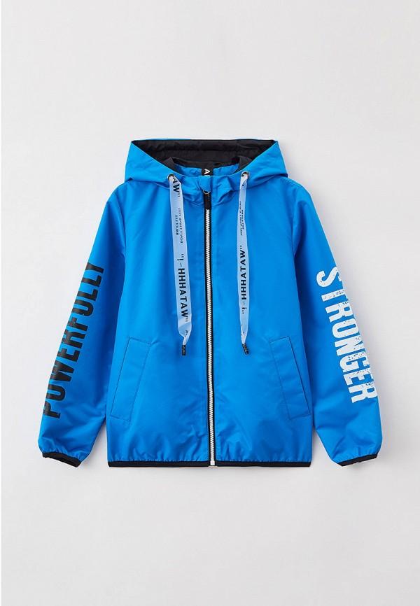 легкие куртка артус для мальчика, голубая