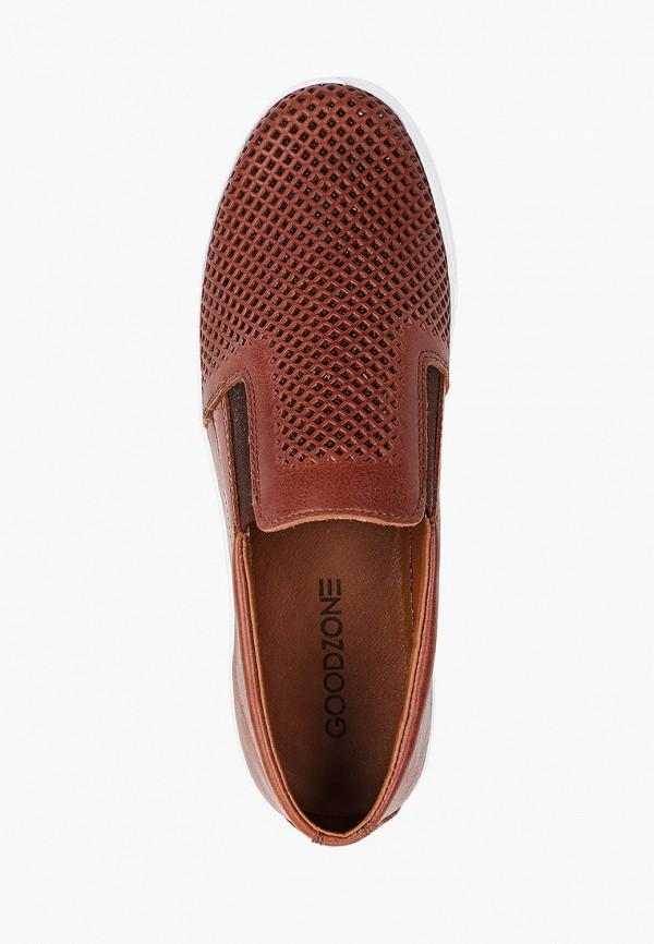Слипоны Goodzone цвет коричневый  Фото 4