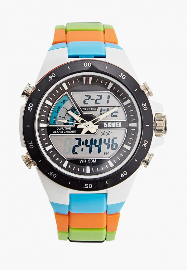 часы skmei для мальчика, разноцветные