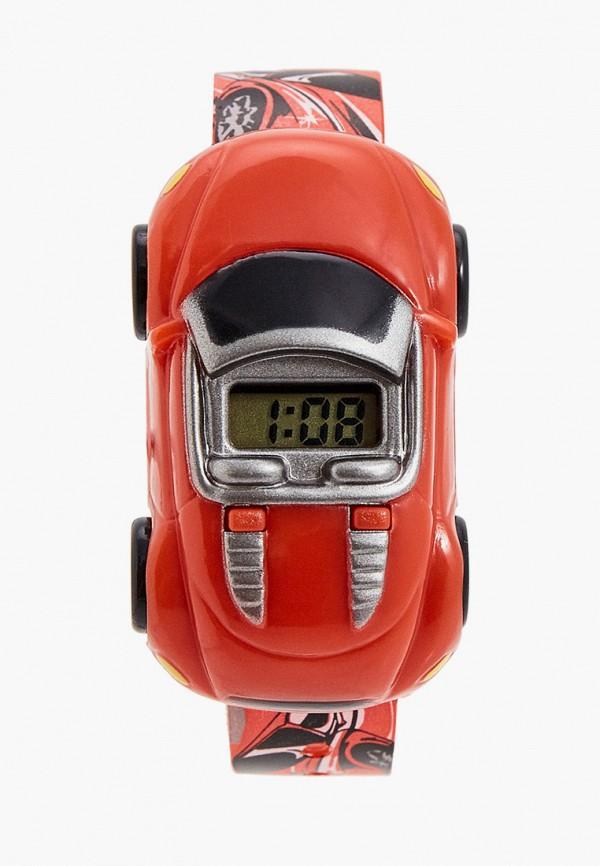 часы skmei для мальчика, красные