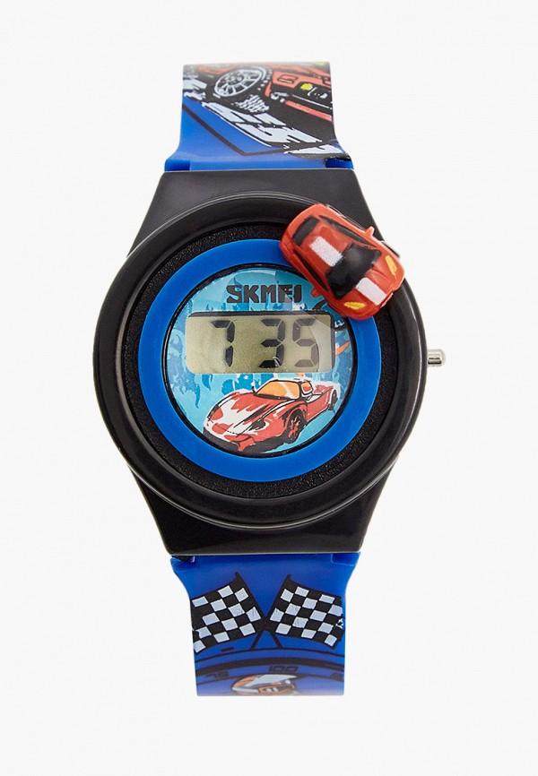 часы skmei для мальчика, синие