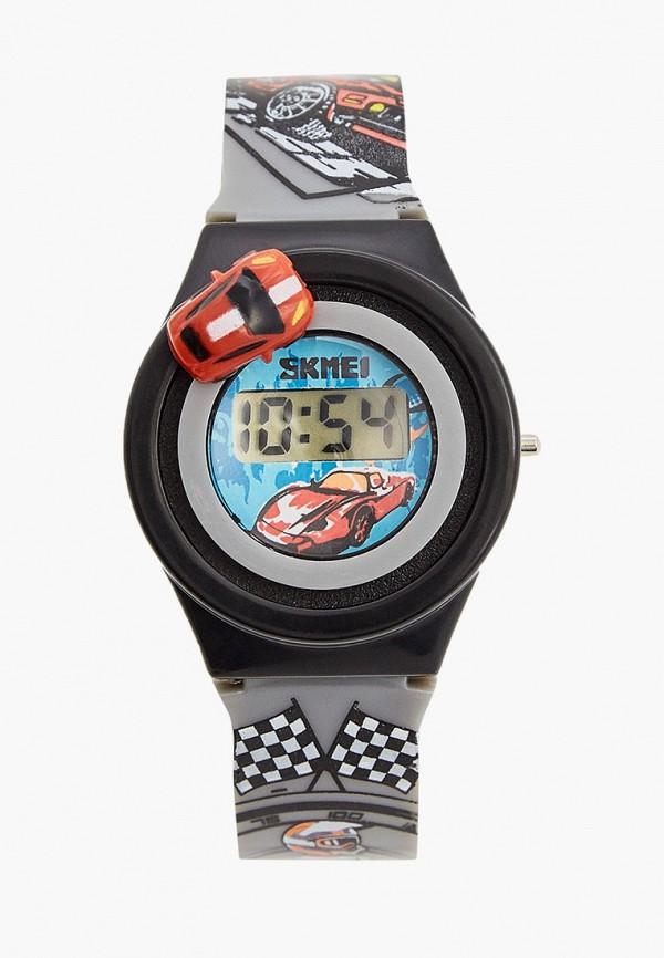часы skmei для мальчика, серые
