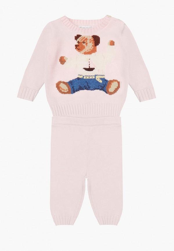костюм polo ralph lauren для мальчика, розовый