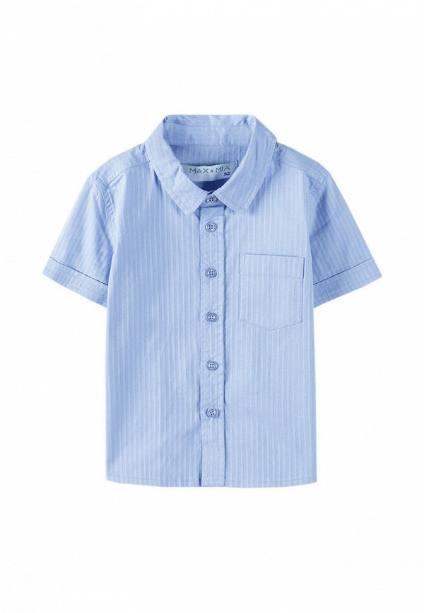 Рубашка 5.10.15 5.10.15  голубой фото