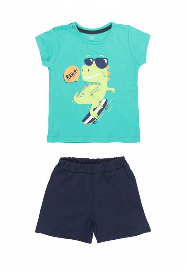 костюм фламинго текстиль для мальчика, разноцветный
