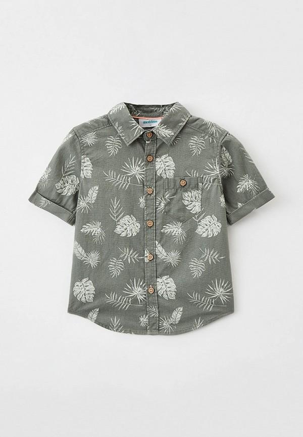 рубашка acoola для мальчика, хаки