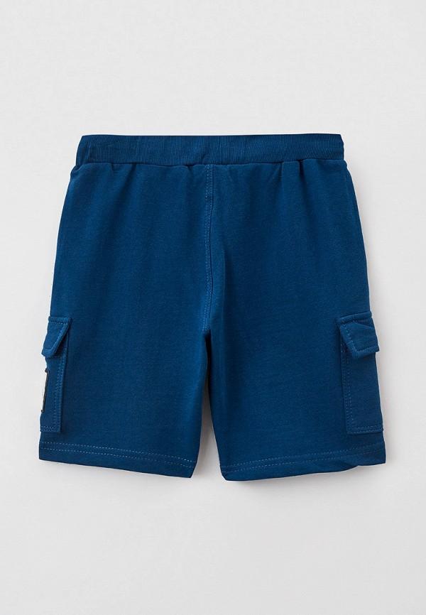 Шорты для мальчика спортивные RoxyFoxy цвет синий  Фото 2