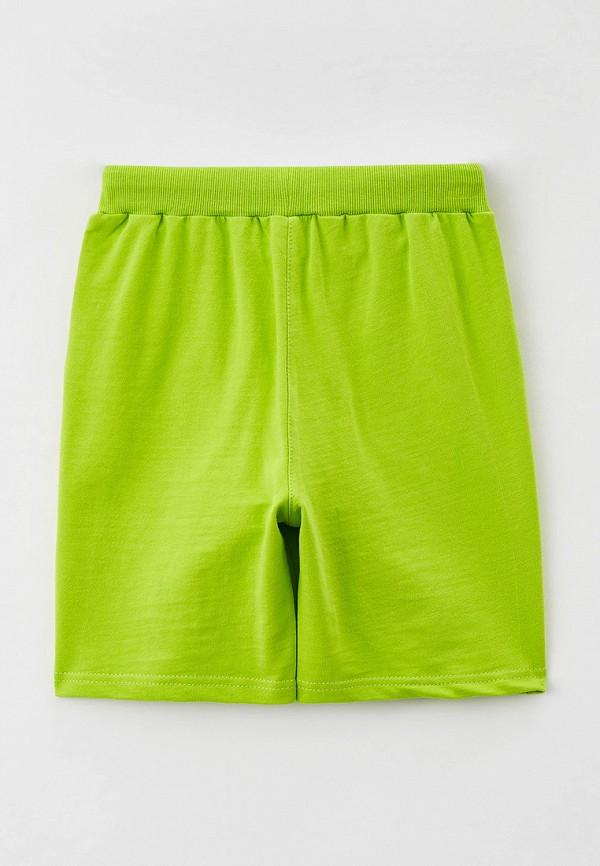 Шорты для мальчика спортивные RoxyFoxy цвет зеленый  Фото 2