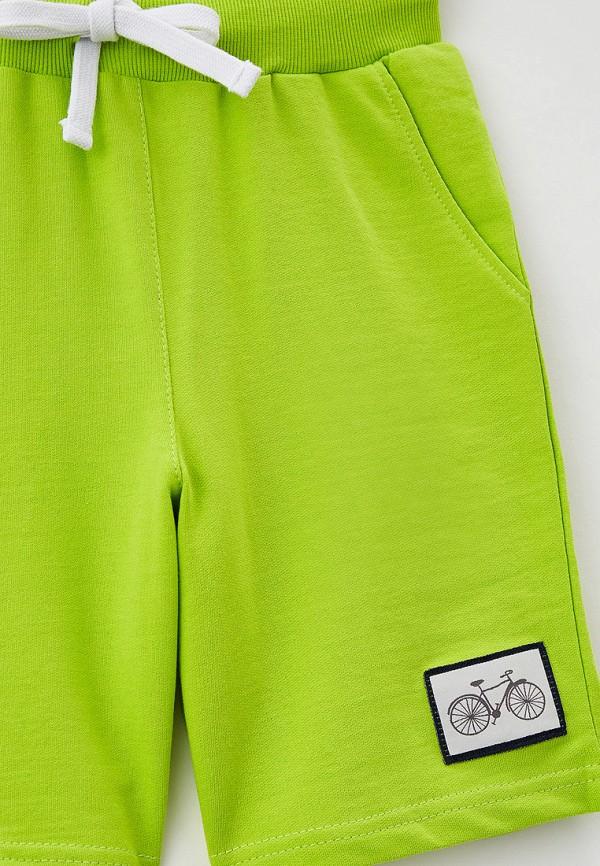 Шорты для мальчика спортивные RoxyFoxy цвет зеленый  Фото 3