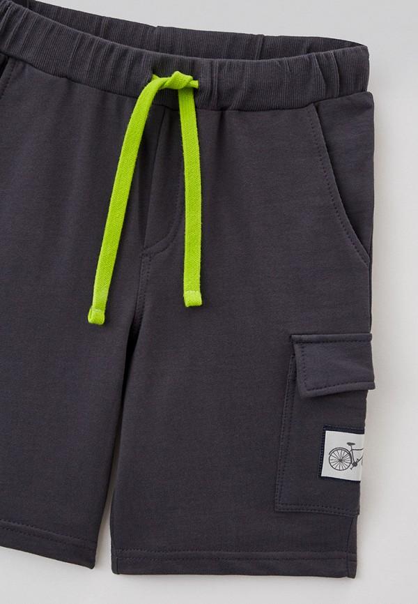 Шорты для мальчика спортивные RoxyFoxy цвет серый  Фото 3